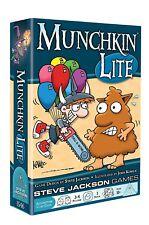 Munchkin Lite Card Game Steve Jackson Games SJG 1546 Dungeon Monsters Halloween