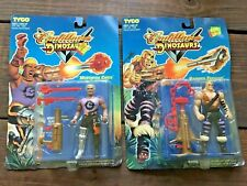 MOC TWO VTG 1993 CADILLACS & DINOSAURS: M. CAIRO & H. TERHUNE ACTION FIGURES