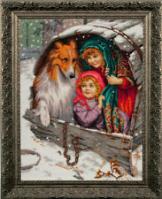 """Bead Embroidery kit GOLDEN HANDS MK-006 - """"Hide and seek"""""""