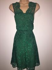 BNWT Lace Skater Dress green Size 12 by Very