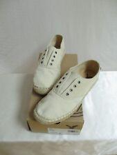 """American Eagle Women's Size 8 """"Etsy"""" Canvas Slip-on Jute Sole Sneaker Style Shoe"""