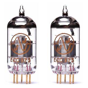 2x ECC83S Gold Pin JJ-Electronic NUOVA NEW Coppia Pair Duet MATCHED 12AX7 ECC83