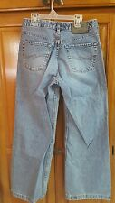 SILVER  JEANS  BUTTON FLY   SZ 30/31  MADE IN CANADA