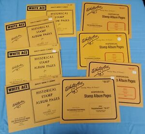 WHITE ACE 1982 - 1989 Israel Singles Album Supplement Pages IS-33 34 35 36 - 40