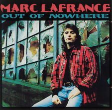 MARC LAFRANCE – Out Of Nowhere  - -  Rare Canadian AOR – Produced by PAUL DEAN