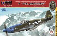 "Kovozavody prostejov 1/72 nord-americano p-51b Mustang ""PILOTA Heller"" # cl7203"