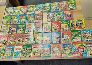Lot of 49 ARCHIE, BETTY & VERONICA, JUGHEAD, LAUGH, PEP comics, digests, annuals