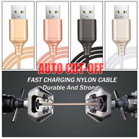 Disconnection Auto Cut-off Cable Fast Charging Data Sync Line USB Charger