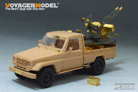 Voyager PE35580 1/35Modern Pick UP w/ZU-23-2 (FOR MENG VS-004)