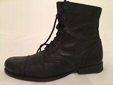Men's ROTH Black Leather AllSaints Boots Size 9