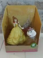 Disney Princess Belle and Mrs. Potts Beauty and the Beast Bullyland New SEALED