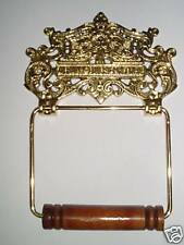"""Brass Albany"" Toilet Roll Holder(New)"