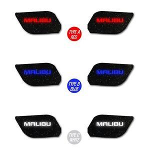 Inside LED Door Catch Plate ( 4pc/set) for Chevrolet Malibu (2012~2013)