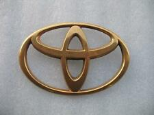 TOYOTA AVALON corolla FRONT TRUNK EMBLEM LOGO DECAL GOLD USED OEM ECHO camry