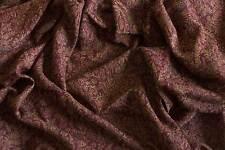 Large Jamawar Wool Shawl Elegance & Excellent Value Pashmina Style Burgundy