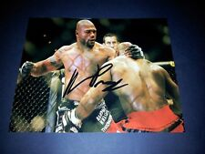 "QUINTON "" RAMPAGE"" JACKSON PP SIGNED 10""X8"" PHOTO REPRO UFC MMA PRIDE"