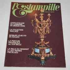 Revue d'art L'ESTAMPILLE 99 1978 Luminaire Collection Wallace Mobilier en Acajou