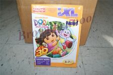 iXL Learning System Software Fisher-Price Dora the Explorer 3D New