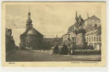 AK Rastatt, Kaiserstrasse, Bernhardusbrunnen, Hotel Kreuz