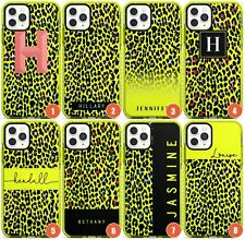 Personalised Transparent Leopard Prints Impact Phone Case for iPhone | Animal Pr
