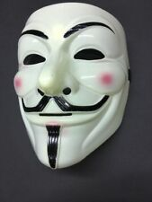 Deluxe V for Vendetta Mask Guy Fawkes Anonymous Halloween Masks Costume New