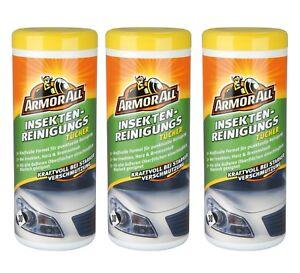 Armor All® 0,21€/Einheit Insekten Reinigungstücher 3x30 Tücher 36115L Teer Harz