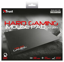 TRUST 20423 GXT 204 HARD GAMING MOUSE MAT PAD, grande disegno della superficie 350 x 260 mm