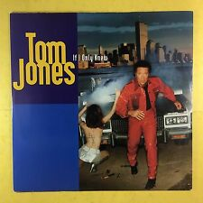 Tom Jones - If I Only Knew - ZTT Records ZANG59T Ex Condition
