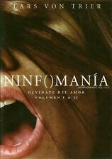 NINFOMANIA Vol. 1&2 (NYMPHOMANIAC)-LARS VON TRIER- NEW DVD-SPANISH SUB.REG 1&4