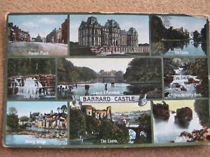 Barnard Castle , Co. Durham - posted 1914
