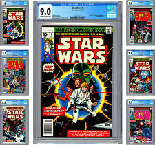 STAR WARS #1-6 CGC VF-NM *STAR WARS: A NEW HOPE* COMPLETE MOVIE ADAPTATION 1977