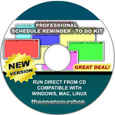 Task Management Software CD | Create Your Schedule With This Intuitive Software