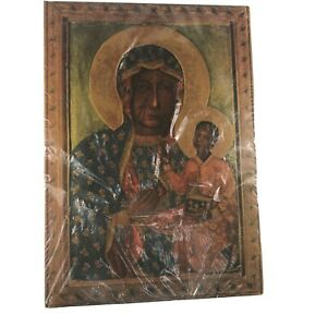 Beautiful painting the Virgin Mary Madonna with child - Virgin and Child