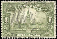 Stamp Canada 1929 Used  $1.00 F+ Scott #159 King George V Scroll