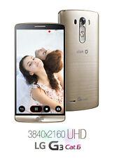 """5.5"""" LG G3 Cat.6 F460 32GB 13MP 4G LTE 3GB RAM GPS Libre TELEFONO MOVIL Oro Gold"""