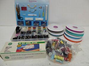 Haberdashery Bundle Thread Ribbon Mini Sewing Machine Storage Box Z2