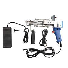 High speed Electric Loop / Cut Pile carpet tufting gun weaving flocking machine