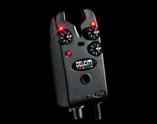 Delkim Tx-i Plus Bissanzeiger rot red DP025 Funk elektronisch Bitealarm Korda