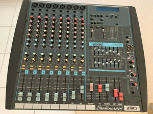 Studiomaster Powerhouse Vision 708 Powered Mixer PA Amplifier with Effects FX/EQ