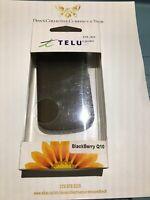 Telus Branded Gelskin For Blackberry Q10 - Black