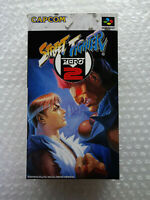 "Street Fighter Zero 2 ""Good Condition"" Nintendo Super Famicom Japan"