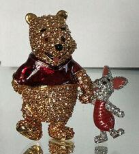 Swarovski Disney Arribas Figur Piglet with Winnie the Pooh mit Ferkel OVP MIB