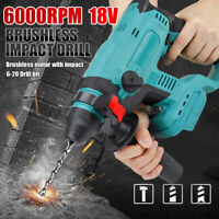 Cordless Electric Drill Impact Wrench Driver Brushless Motor For Makita Battery