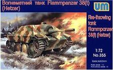 UniModels — Flammpanzer 38(t) Hetzer  — Plastic model kit 1:72 Scale #355