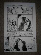 GREEN LANTERN NEW GUARDIANS 37 pg 3 STAR SAPPHIRE & KYLE TRAPPED ON OLD GENESIS