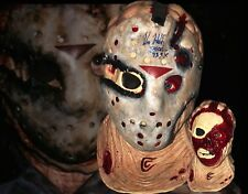 Kane Hodder Jason Goes To Hell Autographed Bust & Hockey Mask Friday The 13th