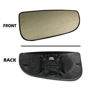 Dodge Ram Tow Mirror Glass RH Right Passenger Outer Convex 2010-2019 Fourth Gen