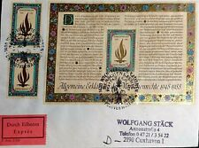 AUSTRIA COVER 1988 FRANKED WITH 40th Anniversary of Declaration of Human Rights