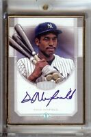Dave Winfield 2017 Topps Transcendent Silver Framed Auto Yankees #TCA-DW 15/15