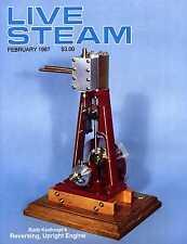 Live Steam V21 N 2 February 1987 Rudy Kouhoupt's Reversing, Upright Engine